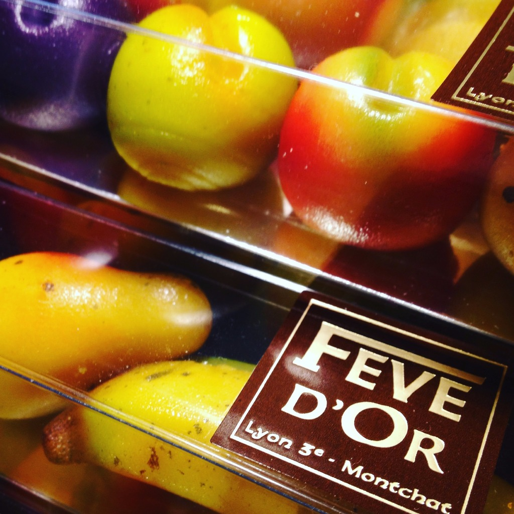 Fève d'Or Lyon - Fruits en pâte d'Amande